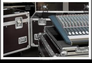 Foto de caixas de equipamentos